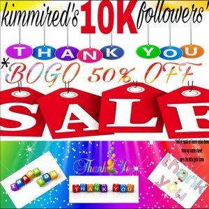 10K Followers ✅ BOGO 50% OFF Sale ✅ For 1 WEEK‼️